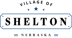 Village of Shelton, Nebraska Logo